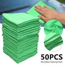 50Pack Microfibre Cloths Cleaning Micro Microfiber Dish Car Gym Towel Glass Bulk