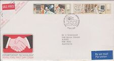(OK-115) 1994 GB FDC 2stamps Information technology