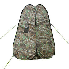 Pop UP Fishing & Bathing Toilet Changing Tent Camping Room Camouflage Outdoor