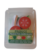 Play Food Organic Slicing Produce In Grocery Store Packaging New