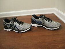Used Worn Size 11.5 Asics Gel Kayano 23 Shoes Gray Blue Silver Black White