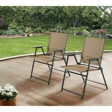 Folding Lawn Chairs Compact Beach Lightweight Pool Lounge Set Of 2 Outdoor Patio
