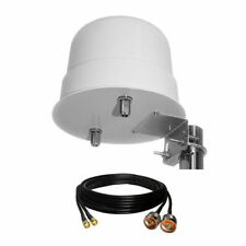 3G/4G/LTE Omni-Directional 12dBi 800-2600MHz Outdoor Antenna +10m SMA Male Cable