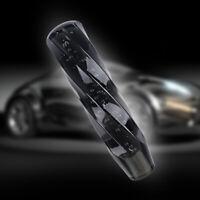 JDM 20CM Crystal Black Bubble Shift Knob  Manual Racing Gear Shifter M8 M10 M12