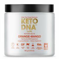Keto DNA Orange Mango Exogenous Ketone Supplement | BHB Salts for Ketosis |...
