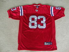 NFL New England Patriots Wes Welker Authentic Sewn Throwback Jersey 54