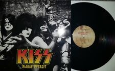 LP 33 KISS Makin' detroit Live At budokan hall 1977