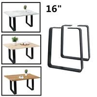 16'' Heavy Duty Industry Table Leg Metal Steel Chair Bench Legs Baking finish