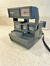 Polaroid One Step Flash Instant Camera with Strap working condition