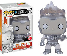 Funko Pop!: DC Comics 2016 SDCC Excl FIRESTORM (WHITE LANTERN) (#91) - IN HAND