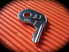 FINN-EAGLE Skid Steer Key -FINN 31-Pre Cut Key-LQQK!