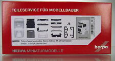 Herpa 083690 Mercedes Benz Actros Streamspace 2.3 Fahrerhaus sep. Grill 2 xStück