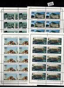 /// 10X PALESTINE - MNH - ARCHITECTURE - TURKEY - CHINA - GERMANY - 1996