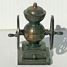 Vintage Die Cast Metal Miniature Pencil Sharpeners. Coffee Grinder