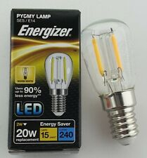 2W LED Sign / Appliance PYGMY ENERGIZER Filament Light Bulb Warm White SES S1356