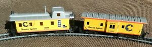 HO Athearn & Bachmann Chesse System 2 Cabooses in Great Condition