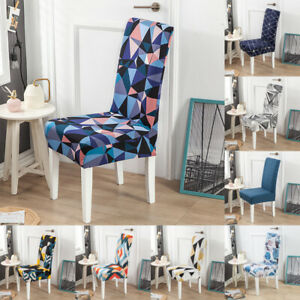Dining Chair Covers Stretch Seat Protector Slipcover Anti-dust for Wedding Party