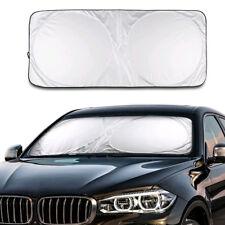 Front Rear Windshield Car Window Sun Shade Shield Cover Foldable Visor UV Block