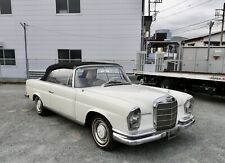 Mercedes Benz 220 SEb ein originales und nicht restauriertes SE Werks-Cabrio