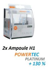 2x AMPOULES H1 POWERTEC XTREME +130 OPEL OMEGA B