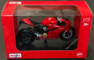 Maisto Ducati 1199 Panigale 1:12  Diecast Motorcycle Red