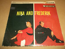 """NINA AND FREDERIK """"MAN MAN IS FOR WOMAN MADE """" 7"""" EP SEG 8092 EX/G"""