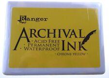 Ranger Almohadilla De Tinta archival Jumbo Cromo Amarillo-A3P31390 D
