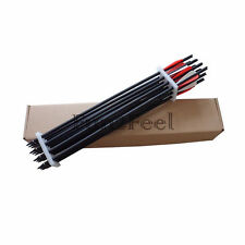 "New 12pcs 20"" Black Carbon Arrows Crossbow Bolts for Archery Practice Crossbow"