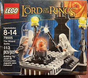 Lego The Lord of the Rings The Wizard Battle 79005 Gandalf Saruman New Sealed
