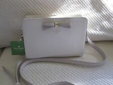 NWT Kate Spade Henderson Cross Body/ Messenger Bag- Cement/ Crisp Linen $258