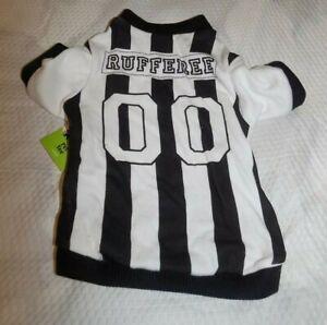Dog Clothing Rufferee 00- Football Game-Superbowl-Mascot-SIZE SMALL - NWT