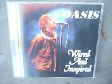 "OASIS ""WIRED AND INSPIRED"" PRO SOURCED SILVER DISC CD-BRAND NEW/UNUSED-SILVER"