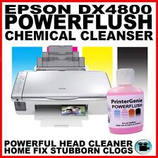 EPSON DX4800 testina di stampa più pulito: UGELLO allineato per sbloccare problema STAMPANTE Clogs