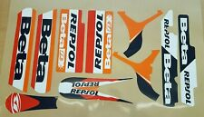 BETA REV 3 GRAPHICS KIT DECAL KIT STICKER KIT TRIALS DECAL SET repsol