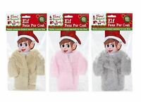Naughty Elves Behavin' Badly Faux Fur Coat & Hanger Clothes Accessory Clothing