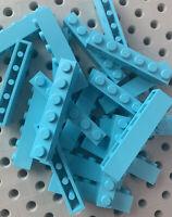 Lego 1x6 Dark Gray Base Plate Tiles 1 X 6 Bricks Plates New Lot Of 25