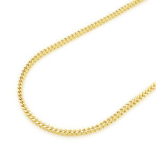 """14K Real Yellow Gold High Polish 2mm Franco Link Chain Necklace 28"""""""