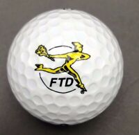 FTD Logo Golf Ball (1) Dunlop DDH Distance 100 PreOwned