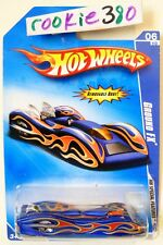 2009 Hot Wheels MODIFIED RIDES #92 ∞ GROUND FX ∞ BLUE BATTLE FORCE 5 CARD
