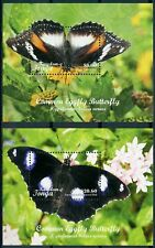 2018 Tonga, insects, butterflies, 2 s / sheets, MNH