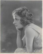 Beatrice La Plante Original 7 x 9 Publicity Photo by WITZEL - 1920's HP0136