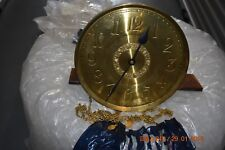 Antique Grandfather Clock Movement with Round Dial fully working and serviced