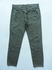 DL1961 NEW $178 WOMENS AZALEA SPRINT GREEN X TWILL RELAXED SKINNY PANTS 30 x 29