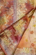 Vintage Printed Ethnic Saree 100% Pure Silk Saree Peach PSS6511