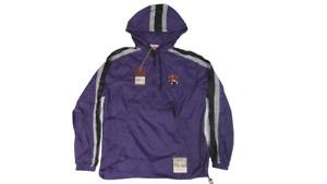 New Toronto Raptors Mens Sizs S-M Mitchell & Ness Anorak Packable Jacket