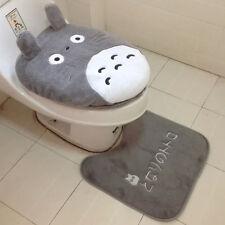 3 Piece/set Toilet Seat Cover Totoro Cartoon Warm Close Stool Cushion Mat