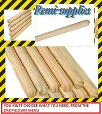 More details for broom handles 1.2,1.5-1.8 meter lengths, 24,25,28mm thickness & many pack sizes