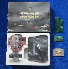 Nintendo 64 CONSOLE LIMITED EDITION Set-Star Wars Racer EPISODE I GIOCO, OVP
