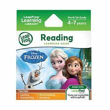 LeapFrog Disney Frozen Learning Game (for LeapFrog Epic LeapPad... Free Shipping