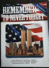 9/11 Memorial / Commemerative Book,  Illustrated, 44 pages, Ephemera